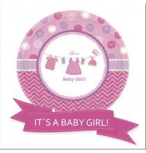 Pack pour Baby Shower Party sur le Thème Baby Shower Rose