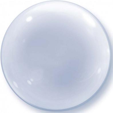 Ballon Bubble 51cm Transparent - Décoration de ballons