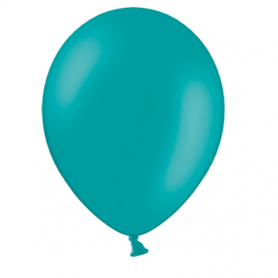 10 Ballons Gonflables Latex Bleu Vert Lagon Fête