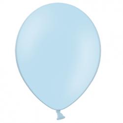 10 Ballons 27cm Latex Bleu Pastel Poudré Fête