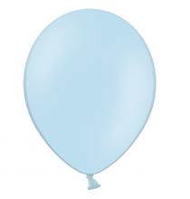100 Mini Ballons 12cm Latex Bleu Pastel Poudré Fête