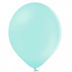 100 Mini Ballons 12cm Latex Vert Mint Pastel Poudré Fête