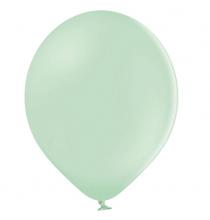 100 Ballons 23cm Latex Vert Pastel Poudré Fête