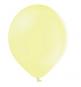 10 Ballons Gonflables Latex Jaune Pastel Poudré Fête
