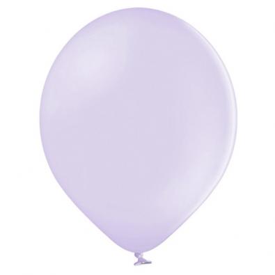 100 Ballons 23cm Latex Parme Pastel Poudré Fête
