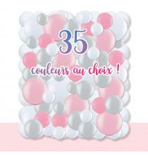 Kit A Vos Couleurs - Mur de Ballons Organiques - 35 couleurs au choix