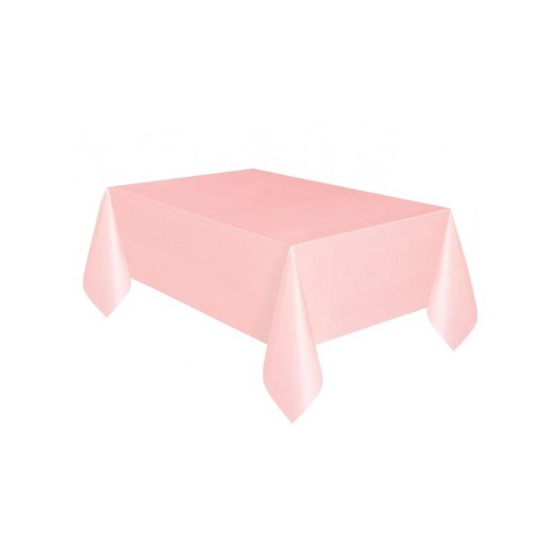 nappe plastique rose uni lavable pour votre f te. Black Bedroom Furniture Sets. Home Design Ideas