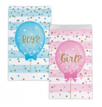 Sachets Cadeaux en Papier Baby Shower Boy or Girl ?