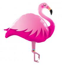 Ballon XXL Flamant Rose Flamingo & Tropiques