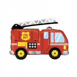 Ballon Qui Marche Air Walkers Camion de Pompier