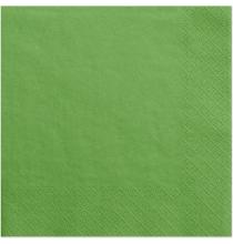 Serviettes en Papier Vert