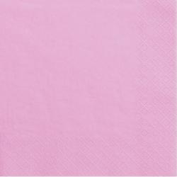 Grandes Serviettes Papier Rose Vaisselle Jetable de Fête