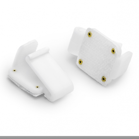 2 Accroches Scratch Attaches en Plastique -Décorations tables et autre