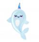 Assiettes Petite Baleine Holographiques - Anniversaire pour enfants