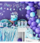 Gobelets Thème Petite Baleine Holographiques - Anniversaire pour enfants