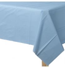Kit Nappe et Jupe de Table Plastique Bleu Lavande