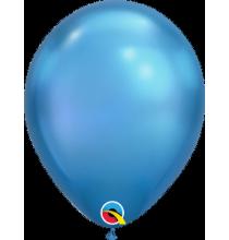 Ballon Chromé à l'unité - nouveauté Qualatex Latex Bleu Foncé Fête