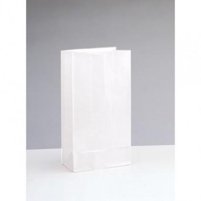 Sachet Papier Blanc Cadeaux aux Invités