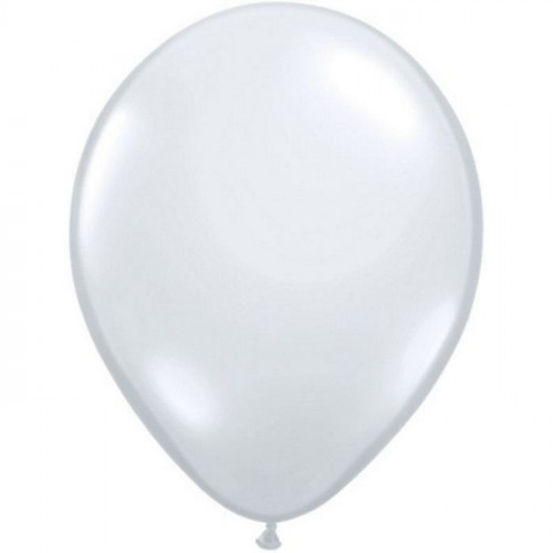 100 Ballons Gonflables Latex Transparent - Fête