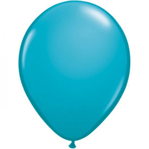 100 Ballons Gonflables Latex Bleu Turquoise Qualatex