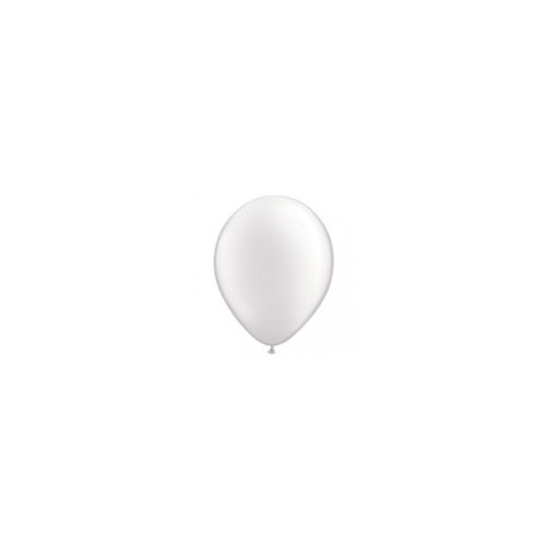 100 Ballons Gonflables Latex Blanc Nacré - Qualatex
