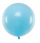 10 Ballons Gonflables Latex Bleu Pastel Poudré Fête