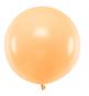 Ballon Jumbo 60cm Latex Pêche Pastel Poudré Fête