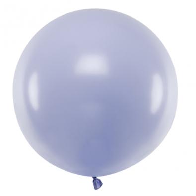 Ballon Jumbo 60cm Latex Parme Pastel Poudré Fête