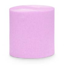 Serpentin Rose - Parme Pastel Papier Crépon Décoration de Fête