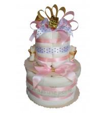 """Gâteau de couches """"Le Noël de ma Princesse"""""""