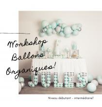 Formation Workshop Ballons Organiques - 6 octobre 2019