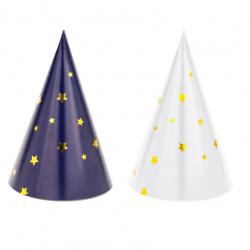 Chapeaux en papier Etoiles - Animation de fête
