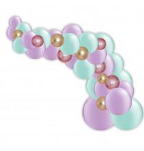 Kit Arche de Ballons Organiques - Modèle Jasmine