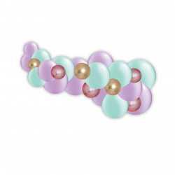 Kit Guirlande de Ballons Organiques - Modèle Jasmine