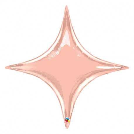 Ballon Etincelle Rose Gold - Décoration