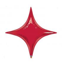 Ballon Etincelle Rouge - Décoration