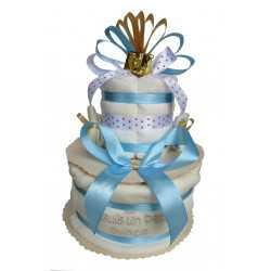 Gâteau de couches Le Noël du Petit Prince en Pampers