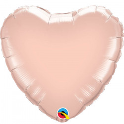 Mini Ballon Alu Coeur Rose Gold - Décoration