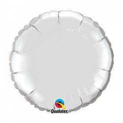 Mini Ballon Alu Rond Argent - Décoration