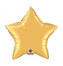 Mini Ballon Alu Etoile Dorée - Décoration