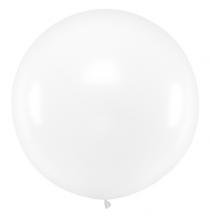 Grand ballon XXL Rond Premium transparent 100cm jumbo - à l'unité