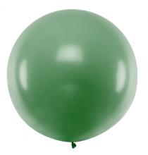Grand ballon XXL Rond Premium vert foncé 100cm jumbo - à l'unité