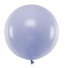 Ballon Jumbo 100cm Latex Parme Pastel Poudré Fête