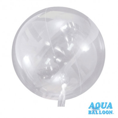 Mini Ballon Aqua Bulle Ultra Transparent Fête
