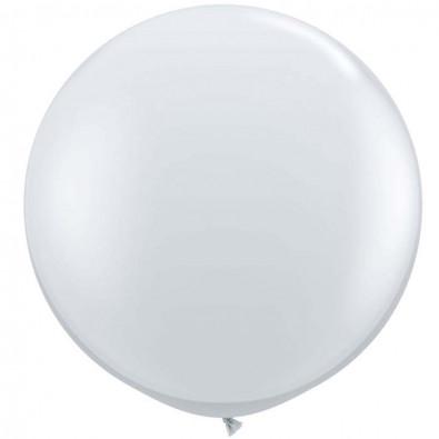 Maxi Pack - Extra grands ballons transparent 46cm - Qualatex