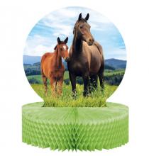 Centre de table thème Cheval et équitation - Anniversaire pour enfants