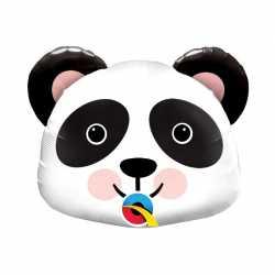 Mini Ballon Alu Tête de Panda Anniversaire