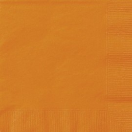 Serviettes Cocktail en Papier Orange
