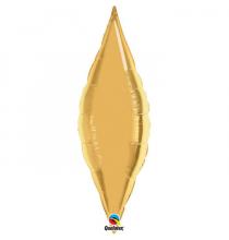 Ballon Alu Diamant XL Doré - Décoration