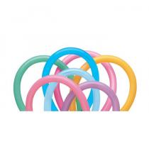 Maxi Pack - 100 Ballons à Sculpter Pastel Mix - Accessoires pro